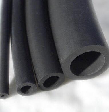 Neoprene rubber tube photo shoot